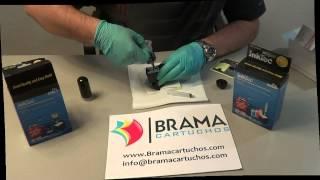 Como rellenar los cartuchos Negro Hp 300 , Hp 301, Hp 901 Hp302, XL con kit de recarga Inktec