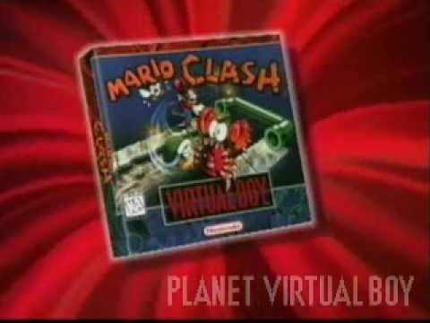 Mario Clash for Virtual Boy / VBOY - TV Commercial/Advert