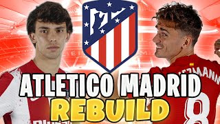 REBUILDING FIFA 22 ATLETICO MADRID!! TWO PLAYERS LEAVE WITHOUT ME KNOWING!! 🤬