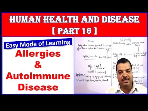 Allergies and Autoimmune Disease | Human Health and Disease | NEET Bio | Part 16