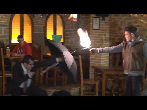 Pub Fight Prank! - Kingsman