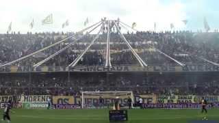 """""""Recibimiento"""" Rosario Central (Los Guerreros) vs Belgrano - 2015"""