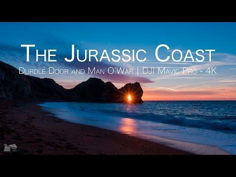 The Jurassic Coast   Durdle Door and Man O' War   DJI Mavic Pro   4K