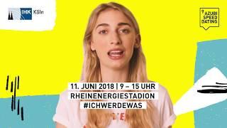 Komm zum Azubi-Speed-Dating der IHK am 11. Juni 2018!
