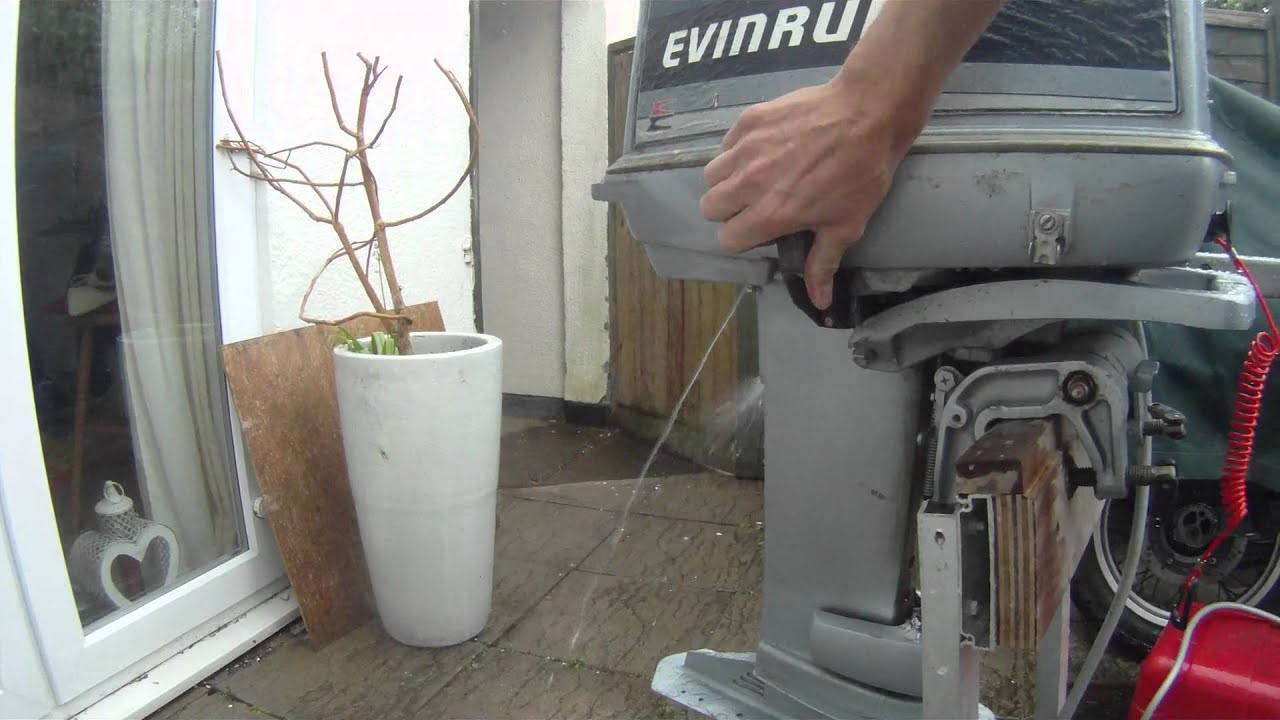 Evinrude 25hp 1986 Outboard Motor Look Around And Running Youtube Johnson 25 Hp Electric Start Wiring Diagram