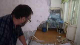 Как сломать стену без шума и пыли.(В данном видеоролике показан один из возможных вариантов демонтажа не капитальной перегородки в квартире...., 2014-07-06T07:51:51.000Z)