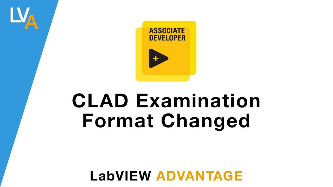Clad Exam Format Changed Labview Youtube