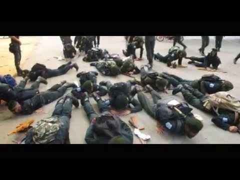 นักศึกษาวิชาทหารชั้นปี 1 2557