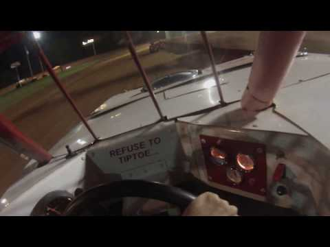 7/29/17 heat race north alabama speedway mini stock car 33
