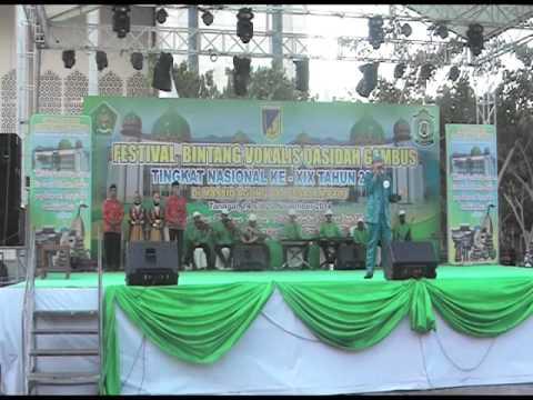 LASQI - JUARA 3 REMAJA PUTRA FESTIVAL BINTANG VOKALIS QASIDAH GAMBUS NASIONAL XIX 2014 PALU SULTENG