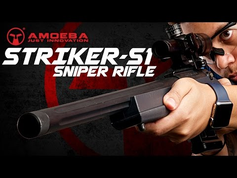 Amoeba 'STRIKER' S1 Sniper Rifle - The Only Sniper You'll Need? - RedWolf Airsoft RWTV