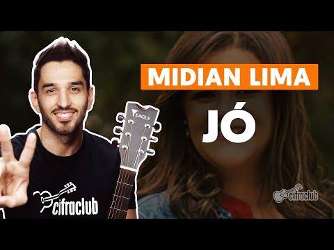 JÓ - Midian Lima  simplificada  Como tocar no violão