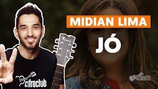JÓ - Midian Lima (versão simplificada) | Como tocar no violão