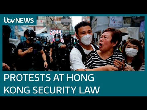 Protests After China Introduce Hong Kong Security Law | ITV News