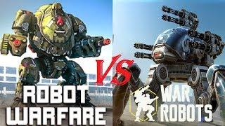 Robot Warfare Vs War Robots (Game Review)
