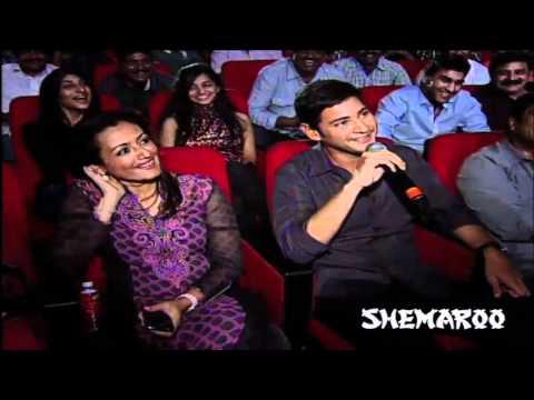 Puri Jagannath Interviewing Mahesh Babu | Businessman Audio Launch