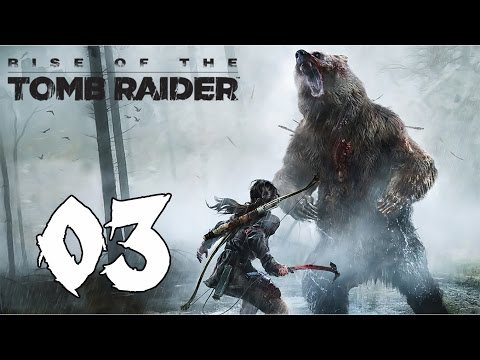 Rise of the Tomb Raider - Survivor Walkthrough Part 3: A Cold Welcome