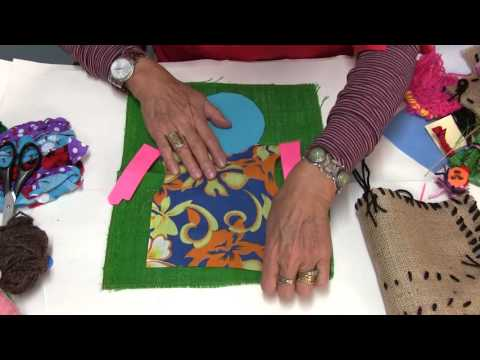 Textile Projects Part 3 -  Arpilleras (Textile Collage)