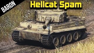 War Thunder Tanks - Tiger in RB with Phly, Circon and Slickbee u fuq