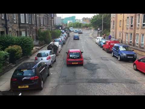 Onboard Lothian Buses Number 19 (Edinburgh Circle) 27.07.18