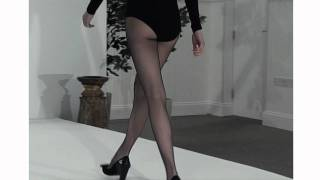 Tightsplease - Jonathan Aston Lycra Seam & Heel Tights Catwalk