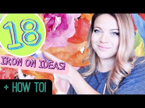 Cricut Iron On Ideas How To Use Iron On