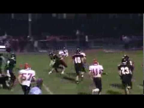 JV Football Harrison Schaefer Riverheads High School #40