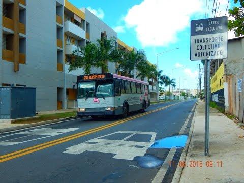🚍/📹 AMA Urban Transport (San Juan): Bus Observations (November 2015) - Part 3/4