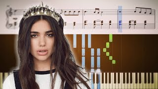 ELECTRICITY (Silk City, Dua Lipa) - ADVANCED Piano Tutorial + SHEETS Video
