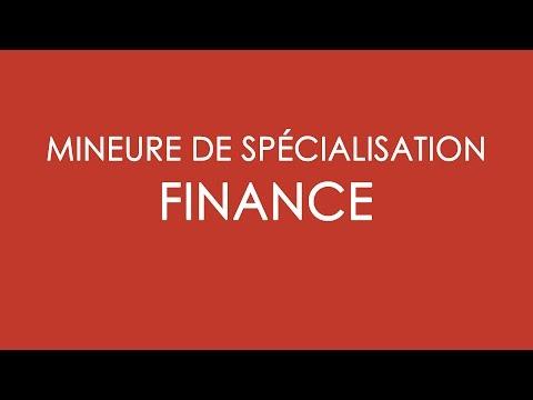 BBA4 - Présentation de la mineure Finance