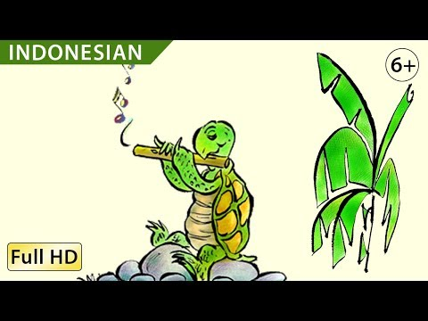 "Turtle's Flute: Learn Indonesian (Bahasa) with subtitles - Story for Children ""BookBox.com"""