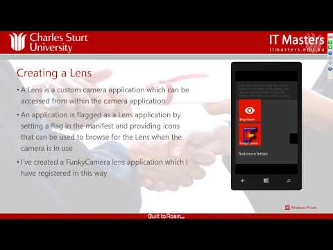 Developing Applications for Windows Phone 8 (Short Course) - Week 3