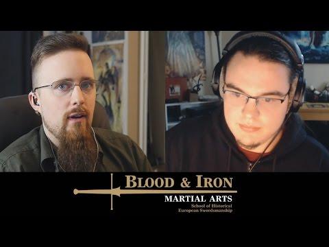 HEMA talk: Injuries in sword fighting, dagger vs staff, impact weapons, etc