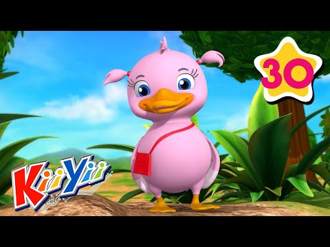 counting-5-little-ducks-|-kids-learning-|-abcs-and-123s-|-kiiyii-|-nursery-rhymes-&-kids-songs