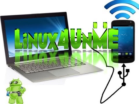 Android Usb Tethering via CLI in Linux