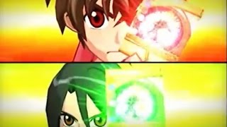 Bakugan Dan vs Shun