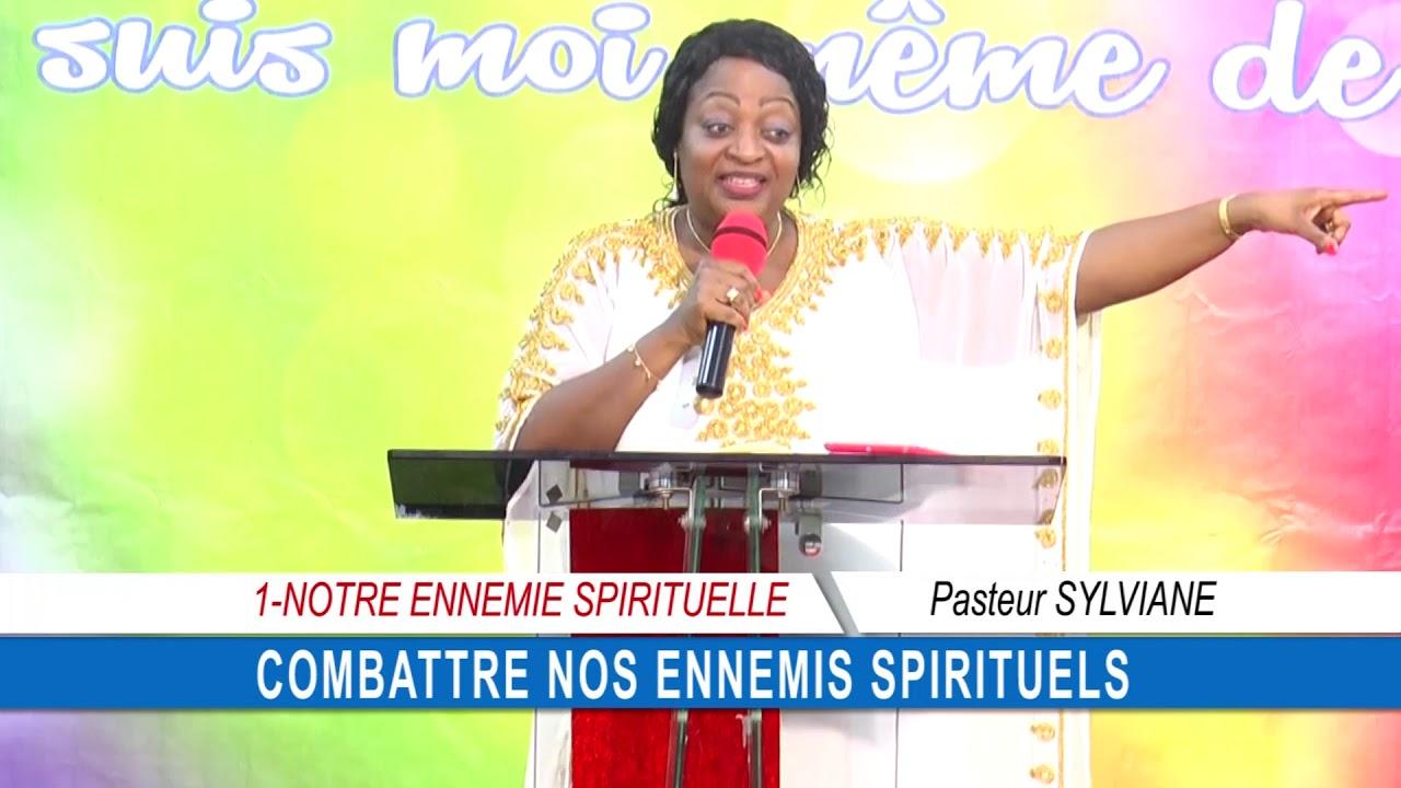 CULTE 2019 09 22 PASTEUR SYLVIANE COMBATTRE NOS ENNEMIS SPIRITUELS