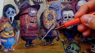 If Minions were Horror Movie Villains