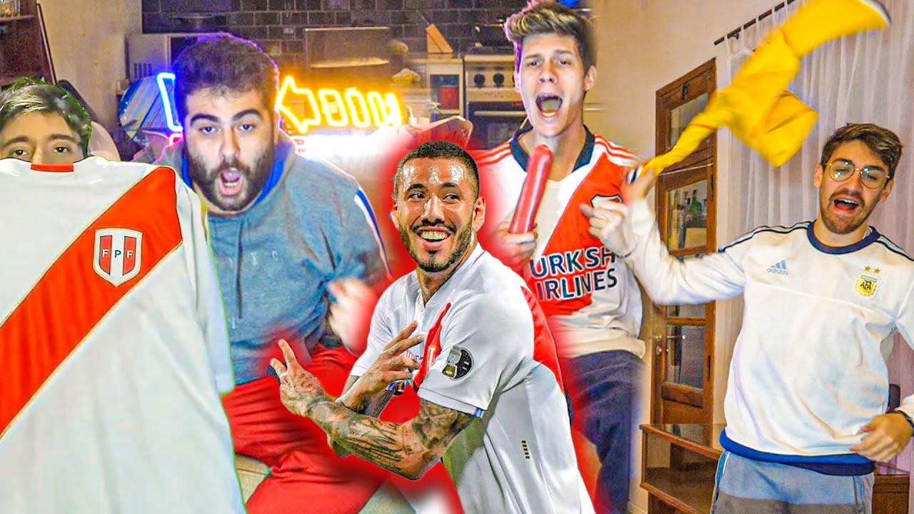 Reacciones de amigos | Colombia vs Perú | Copa América 2021