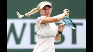 Miami Open Highlights Amanda Anisimova vs Wang Qiang: 16 years old Anisimova is Miami open youngest