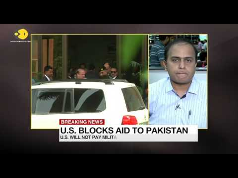 US blocks aid to Pakistan
