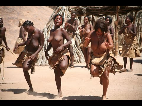 Meeting tribal in Africa   tribes life     African culture and rituals