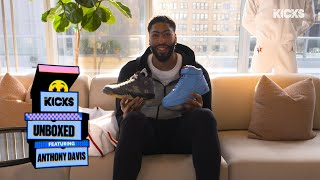 Anthony Davis Shares Collabs from Virgil Abloh and Chicago All-Star Uniforms on B/R Kicks Unboxed