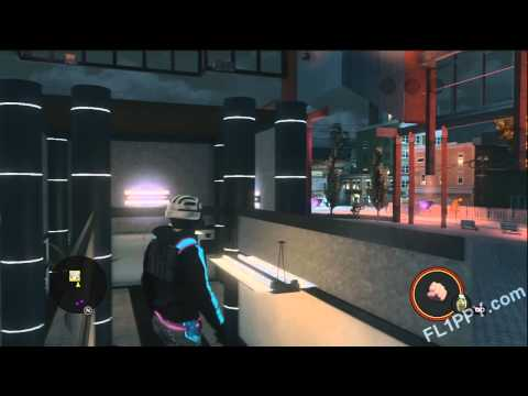 Saints Row: The Third - Glitch in Building