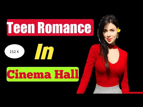 Teen Romance In Cinema Hall  Kiss Scene Summer Of 42