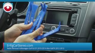 Golf GTI 2010-2014 Raḋio Removal