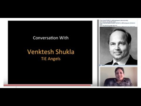 365th 1Mby1M Roundtable August 31, 2017: With Venktesh Shukla, TiE Angels