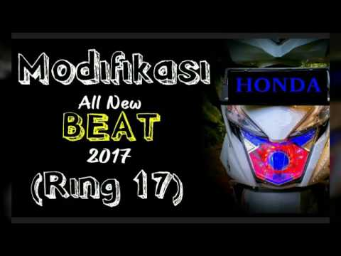 Modifikasi Honda All New Beat esp RING 17