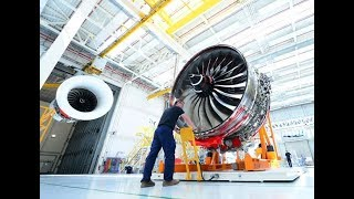 Rolls-Royce | How we assemble the Trent XWB; the world