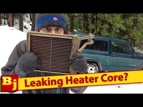 Leaking Heater Core? How It's Replaced -